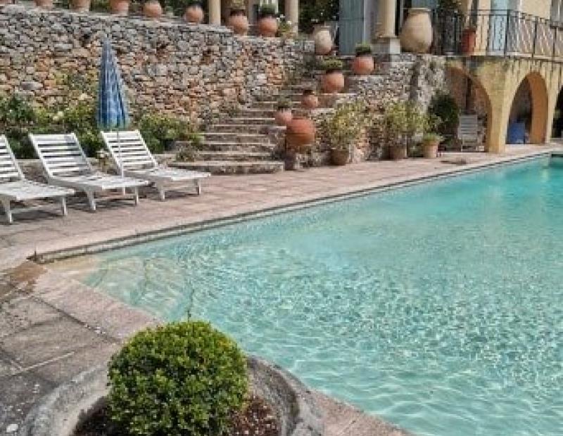 COTIGNAC, mas de 1836  sur 2ha5 avec piscine a vednre - Image 2