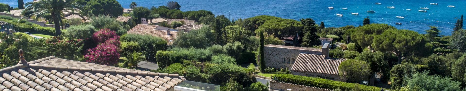 Superb sea view for this villa of 320 m²