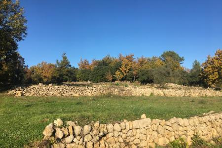 CARCES terrain constructible viabilisé expo SUD